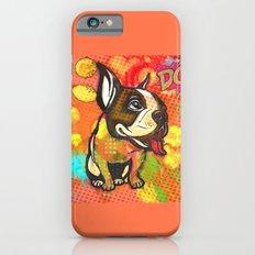 Dog pop art iPhone 6s Slim Case