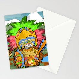 Tenochtitlan - Azteca Moderno  Stationery Cards