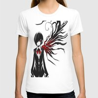 tokyo ghoul T-shirts featuring tokyo ghoul  Touka by Lee Chao Charlie Vang