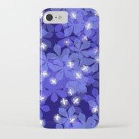 fireflies iPhone & iPod Cases featuring Fireflies by Heleen van Buul