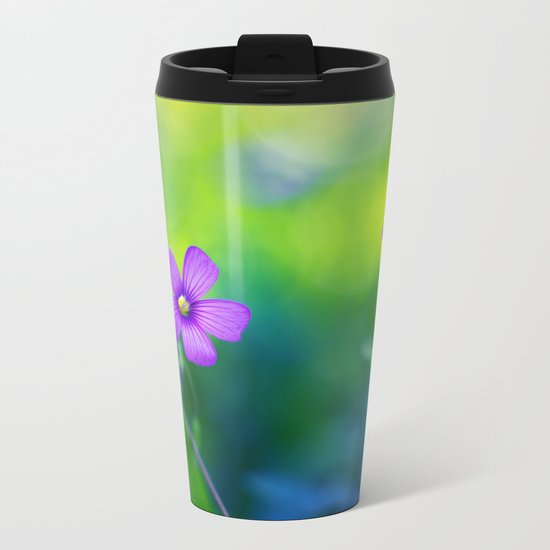 Springtime Metal Travel Mug