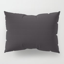 Geometry ~ Darkest Brown Pillow Sham