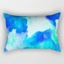 Blue Java Rectangular Pillow