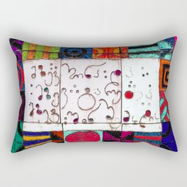 The Sun In And The Sun Out Rectangular Pillow