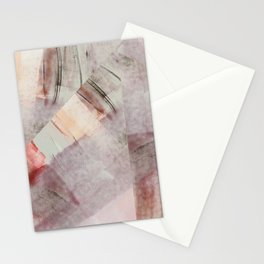 Soft Abstract Painting Stationery Cards