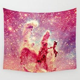 Galaxy : Pillars of Creation Nebula Wall Tapestry