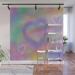 Fuzzy Love Wall Mural
