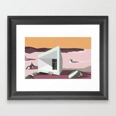 FOGO ISLAND Framed Art Print