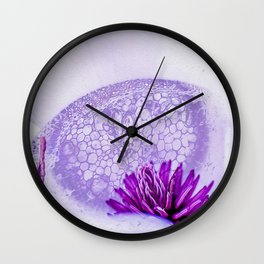 Micrograph Infusion Wall Clock