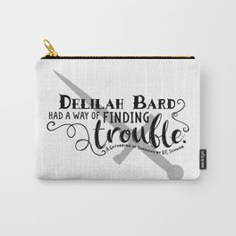 Finding Trouble (on light) Carry-All Pouch