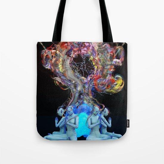 Synchromystics Tote Bag