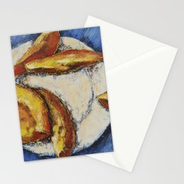 Mango /// by Olga Bartysh Stationery Cards