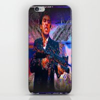 scarface iPhone & iPod Skins featuring scarface by Vector Art