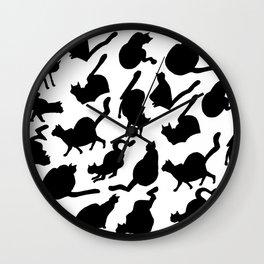 Blacats Wall Clock
