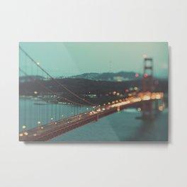San Francisco Golden Gate Bridge, Sweet Light Metal Print