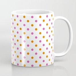 Fun Dots pink orange Coffee Mug