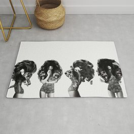 Lions And Bears Party Rug