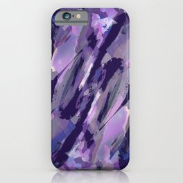 Thunder Plum Abstract iPhone Case