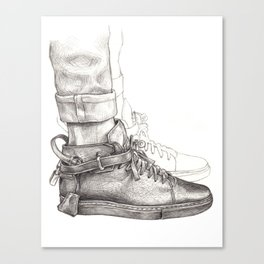 Buscemi 100MM Fashion Drawing Canvas Print