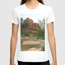 Temple of Sinawava And Virgin River T-shirt