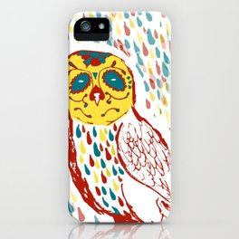 Sugar Skull Owl iPhone Case