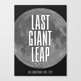 Last Giant Leap Canvas Print