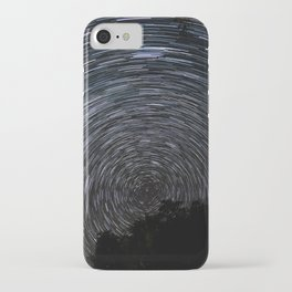 Epic Star Trail Photo iPhone Case