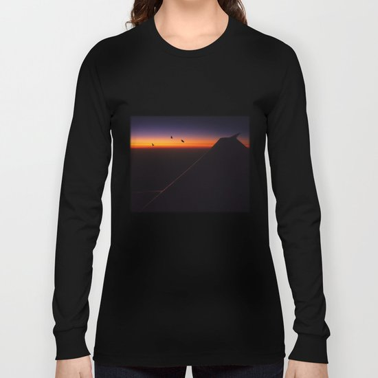 Boeing Sunset Long Sleeve T-shirt
