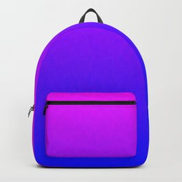 Pink Purple Blue Ombre Flames Backpack