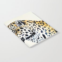The Leopard Watercolor (Color) Notebook