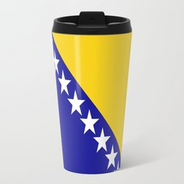 Flag of Bosnia Travel Mug