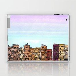 New York Purple Sky Laptop & iPad Skin