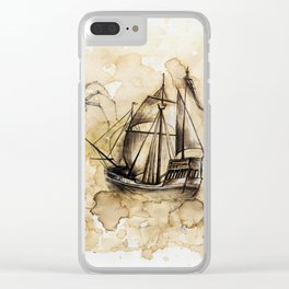 In the mist Clear iPhone Case