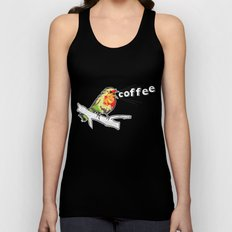 The Early Bird Catches the.... Unisex Tank Top