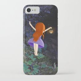what's in the dark? iPhone Case