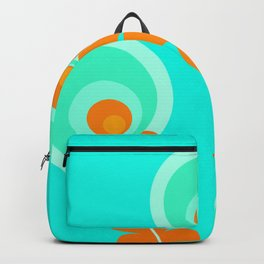 Circle flowers 2 Backpack