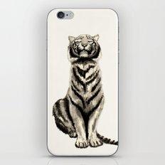 Tiger B&W iPhone & iPod Skin