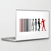 evolution Laptop & iPad Skins featuring Evolution by Artbox designs