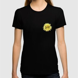 Trench Yellow Flower 2 T-shirt