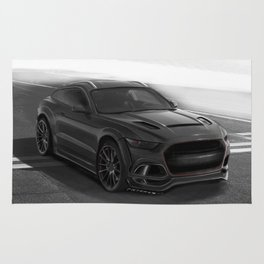 Ford Mustang SUV by Artrace Rug