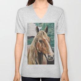 Beautiful Horse Unisex V-Neck