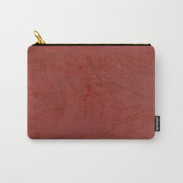 Tuscan Red Stucco - Rustic Glam Carry-All Pouch