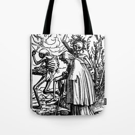 Holbein - Danse Macabre Tote Bag