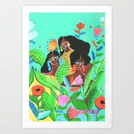 Tribe vibes Art Print