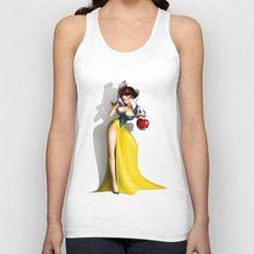 Snow White Unisex Tank Top