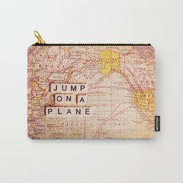 jump on a plane Carry-All Pouch