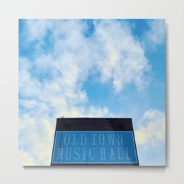 Old Town Music Hall Metal Print