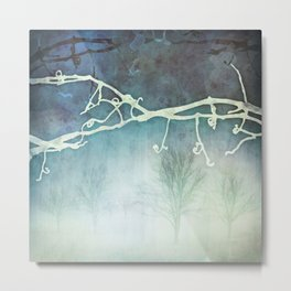 Winter Vigne Metal Print