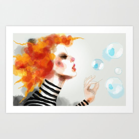 Pin Art Print