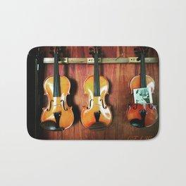 Einstein's Violins Bath Mat